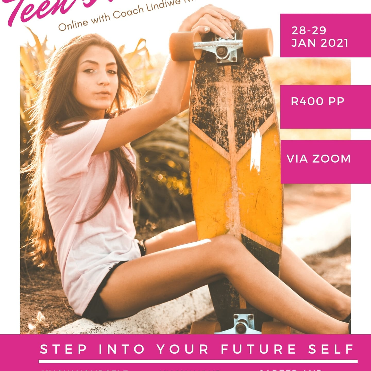 Step into Yourself Workshop for Teens